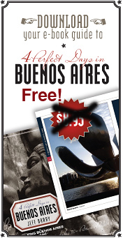 e-book guide to 4 Perfect Days in Buenos Aires